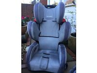 Recaro seat baby to 5 years