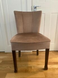 4 x antique dining chairs