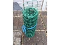 Garden green fencing