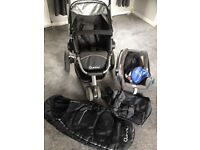 Quinny Buzz Pushchair, Car Seat & Accessories