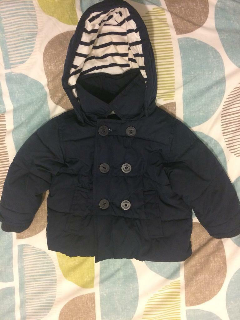 Perfect Gap Peacoat Puffer Jacket 18-24 Mths