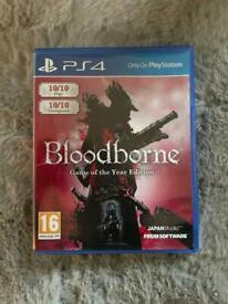 Bloodbourne (Game of the year edition)