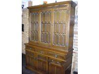 Old Charm Lancaster Display Cabinet