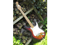 1970's Kay Stratocaster electric guitar