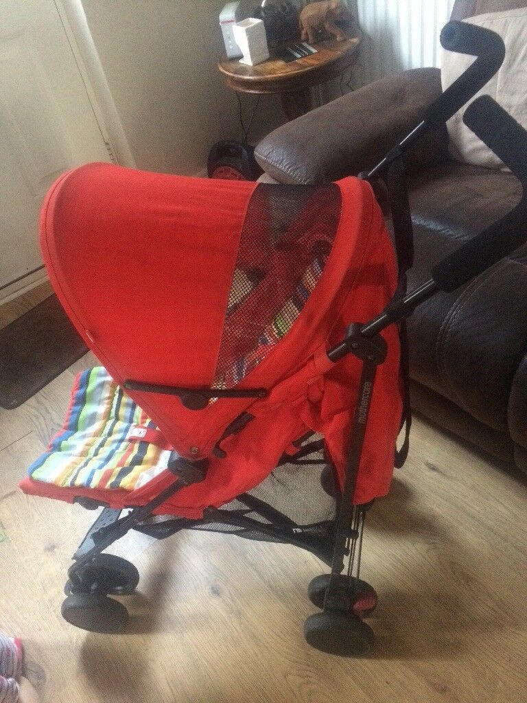 NEED GONE ASAP Red Mothercare nanu + stroller