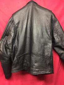 Motor Bike Black Classic leather Jacket