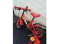 Small first boys bike