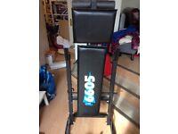 York Weights bench plus 37kg metal free weights - £40