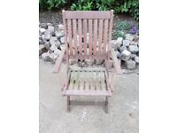 Garden chairs in need of tlc