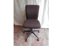 Brown fabric office chair (Delivery)