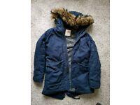Hollister Medium parka jacket with extra warm lining