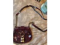 GREAT CONDITION- RIVER ISLAND CROSS BODY BAG- PLUM/PURPLE