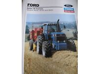 FORD NEW HOLLAND PRODUCT RANGE. Part 1, £300 + Postage & Packing.