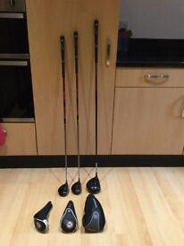 Wilson Golf Clubs.