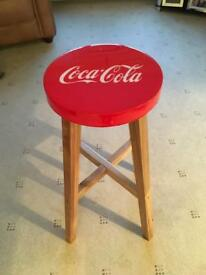 Coca Cola Bar Stool for sale