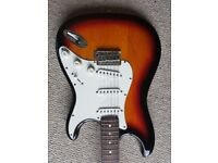 Squire stratocaster, ideal starter guitar