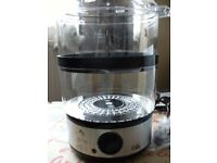 ELECTRIC 2 TIER STEAMER (Brand New & Boxed)
