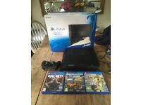 PS4, 1TB Console. Controller and 3 gamesGood condition £275