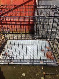 Quick sale medium size dog cage for sale !!23