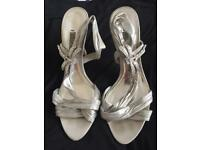 Next silver heels size 6