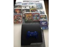 Ps3 slim 500gb with games