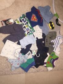 New and nearly new baby clothes