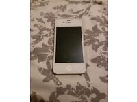 Iphone 4s white 16gb perfect condition