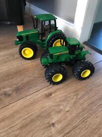 Tractors £5 each