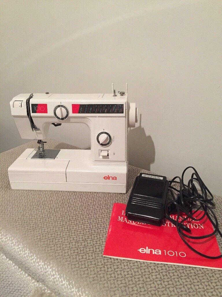 ELNA 1010 ELECTRIC SEWING MACHINE