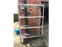 Stainless steel shelving 4 tier