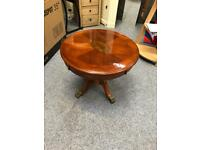Reproduction Mahogany Coffee Table / Lamp Table