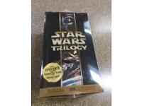 Star Wars Trilogy VHS - brand new!!
