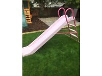 Chad Valley 7 foot pink slide