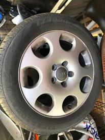 """5x112 16"""" Audi A3 wheels Great Tyres!"""