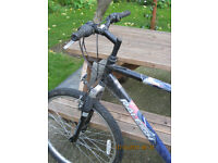 24 inch frame Mountain Bike - Raliegh Free Ride - 18 gears