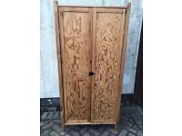 Pine Wardrobe-£35 delivered