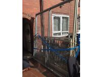 8ftx8ft steel fabricated gates x2 nearly new
