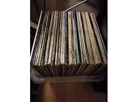Vinyl Records Job Lot 80 LPs - Pop/Rock/Jazz/Blues etc.