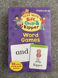 Learn to read flashcards - Biff Chip & Kipper
