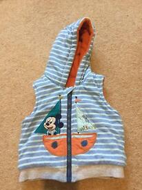 Baby boy gilet 6-9 months. Excellent condition.
