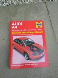 Audi A4 B6 Haynes Manual