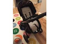 Mothercare orb pram and maxi cosi car seat