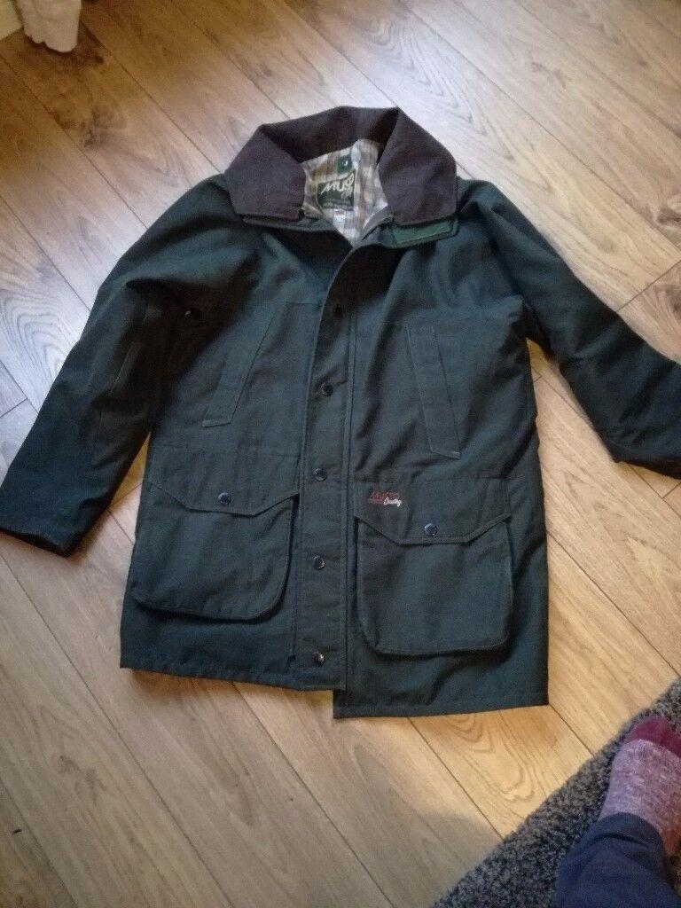 Musto country jacket size medium