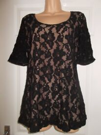 Brand new Next lace evening top