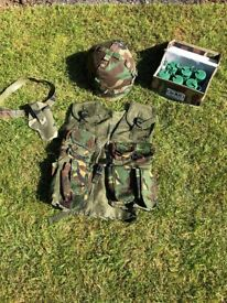 CHILDS ARMY KIT £12