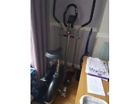 Vfit 2 in 1 elilptical crosstrainer and cycle