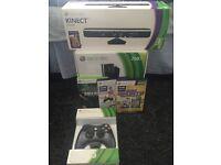 Xbox 360 250 GB with kinect bundle