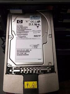 HP 146.8gb U320 10k SCSI Hard Drive w/ Tray 306637-006 271837