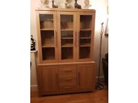 Oak Effect Cabinet