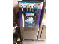 Ice Cream Machine Triple Head ,Floor Standing,Single Phase,Only 3 Years Old,